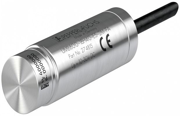 UMB800 – najmniejszy czujnik ultradźwiękowy ze stali nierdzewnej
