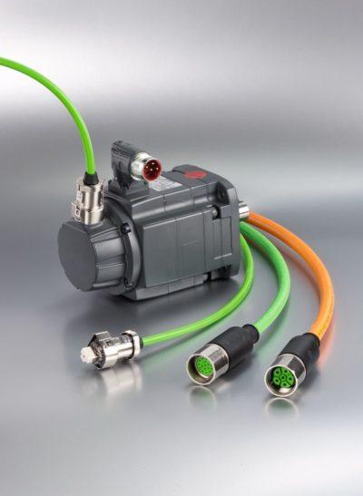 Łatwe i szczelne połączenia serwomotorów