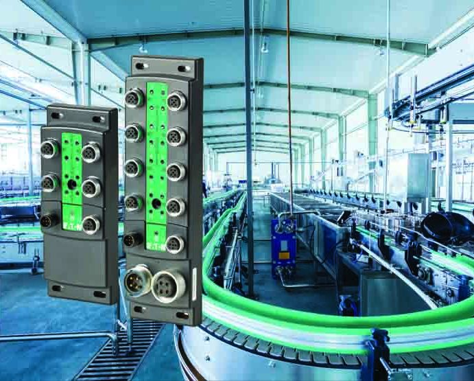 Bloki modułów SmartWire-DT otwierają nowe możliwości zwiększania efektywności urządzeń peryferyjnych dla producentów maszyn i systemów